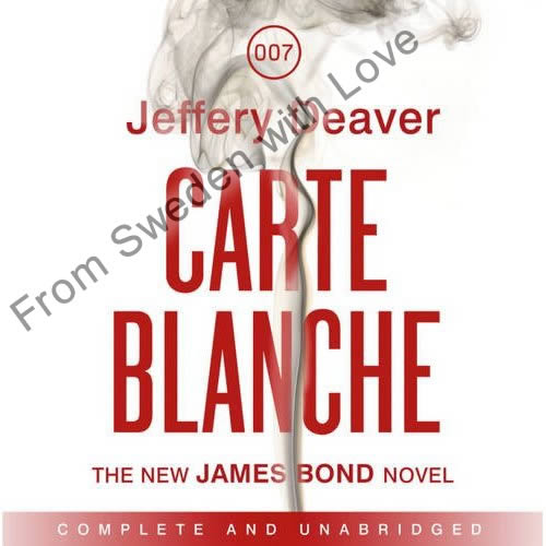 Carte blanche US audiobook