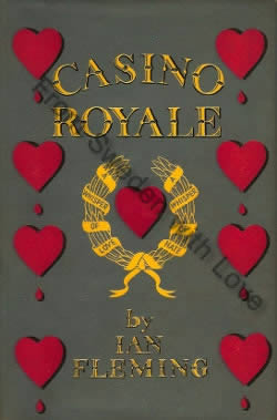 First edition UK hardcover of Casino Royale (1953)