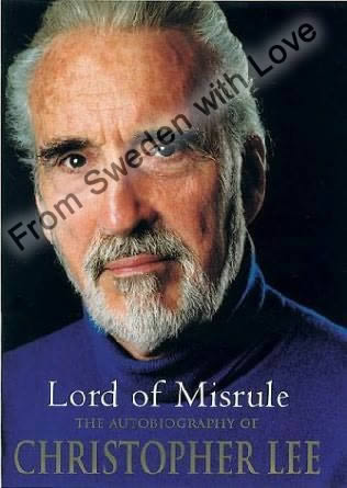 Christopher lee autobiography hardcover