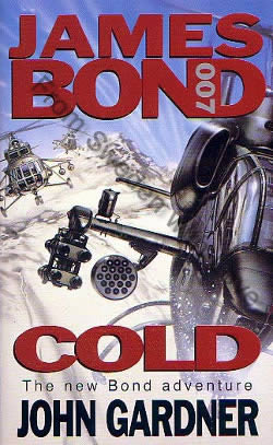 First UK edition hardcover of Cold (1996)