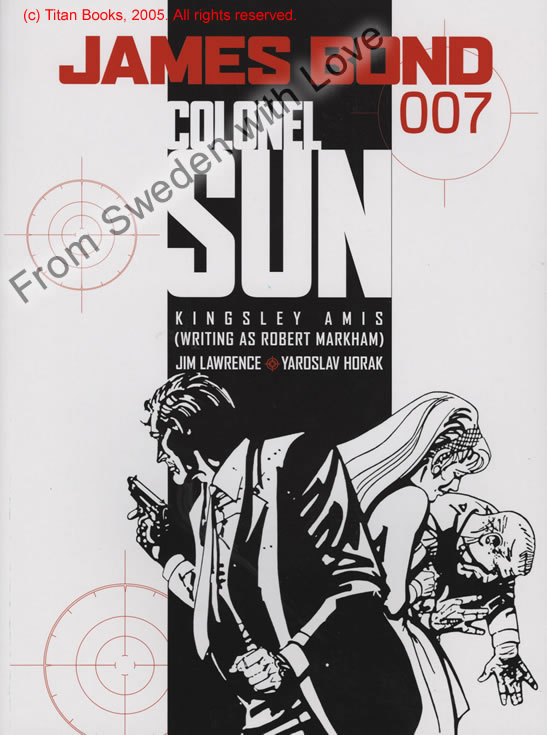 Colonel Sun graphic novel