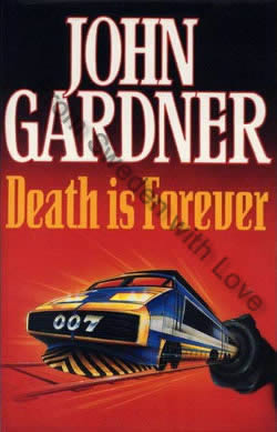 First UK edition of Death Is Forever (1992)