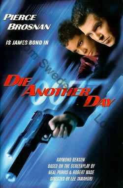 First UK edition of Die Another Day (2002)