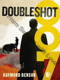 First edition UK hardcover of Doubleshot (2000)