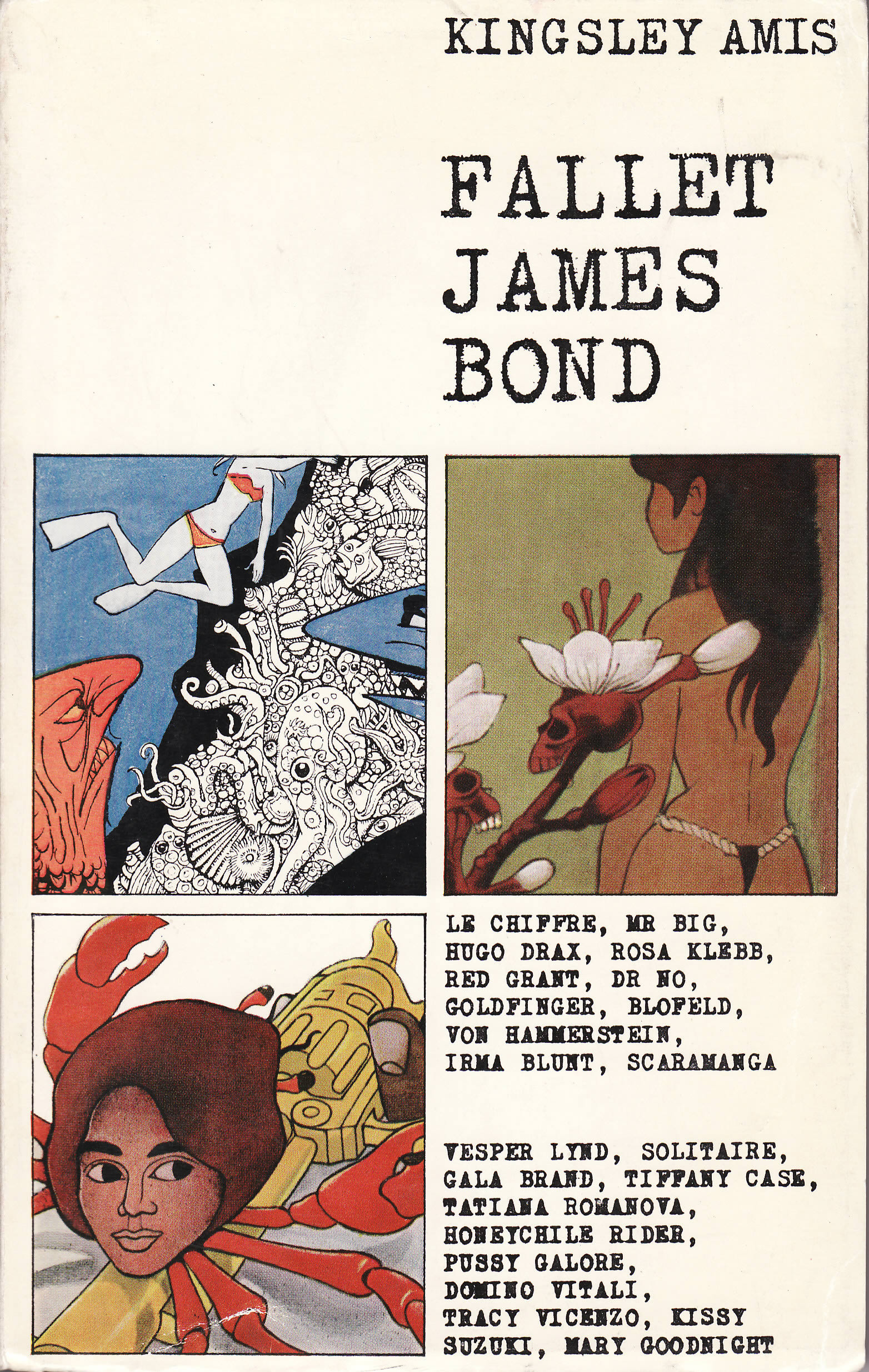 First edition of The James Bond Dossier (1965)