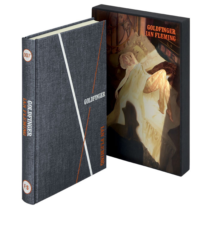 Folio Society Goldfinger Ian Fleming