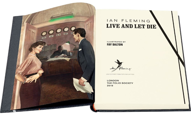 Live and Let Die The Folio Society edition