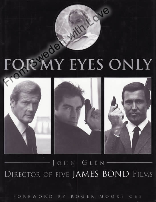 For my eyes only john glen