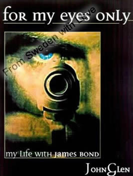 For my eyes only john glen paperback