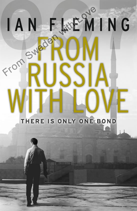 From Russia With Love vintage paperback