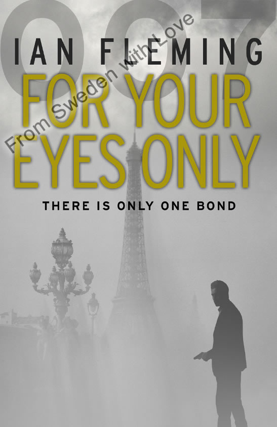For Your Eyes Only vintage paperback