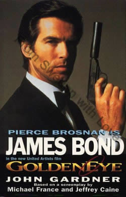 First UK edition hardcover of GoldenEye (1995)