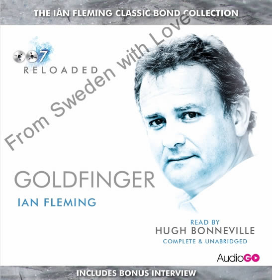 Goldfinger BBC audiobook
