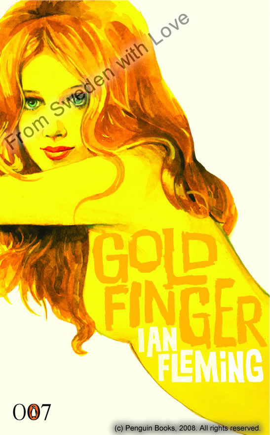 Goldfinger centenary edition novel