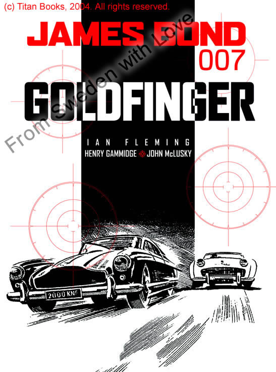 Goldfinger graphic novel