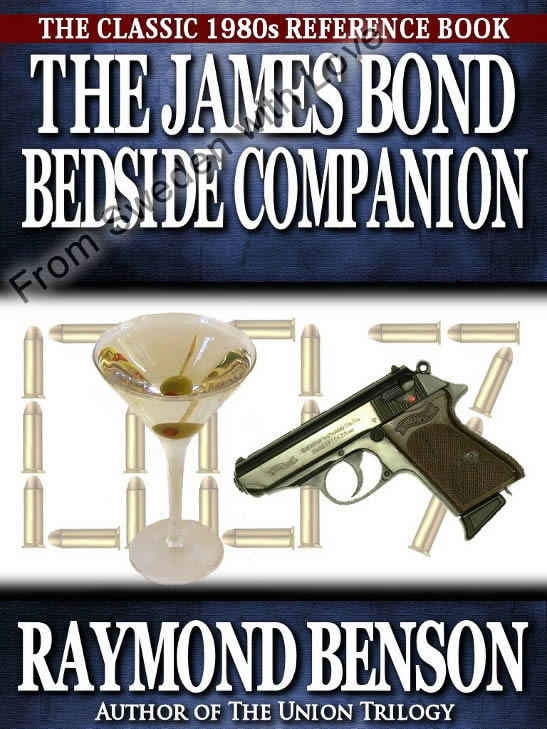 James bond bedside companion