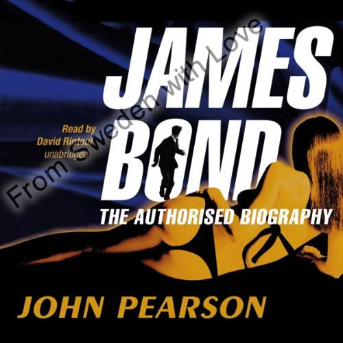James bond biography audiobook