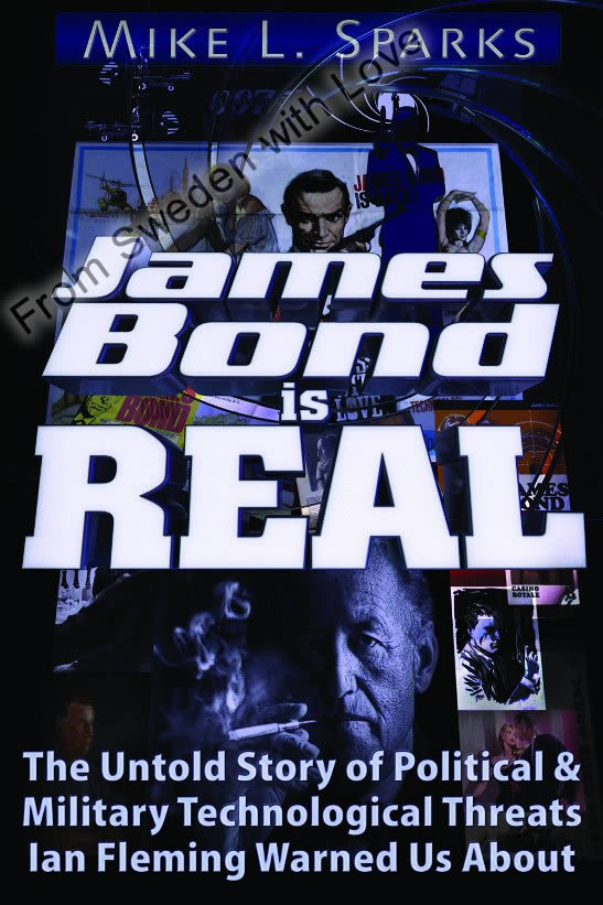 James bond is real book
