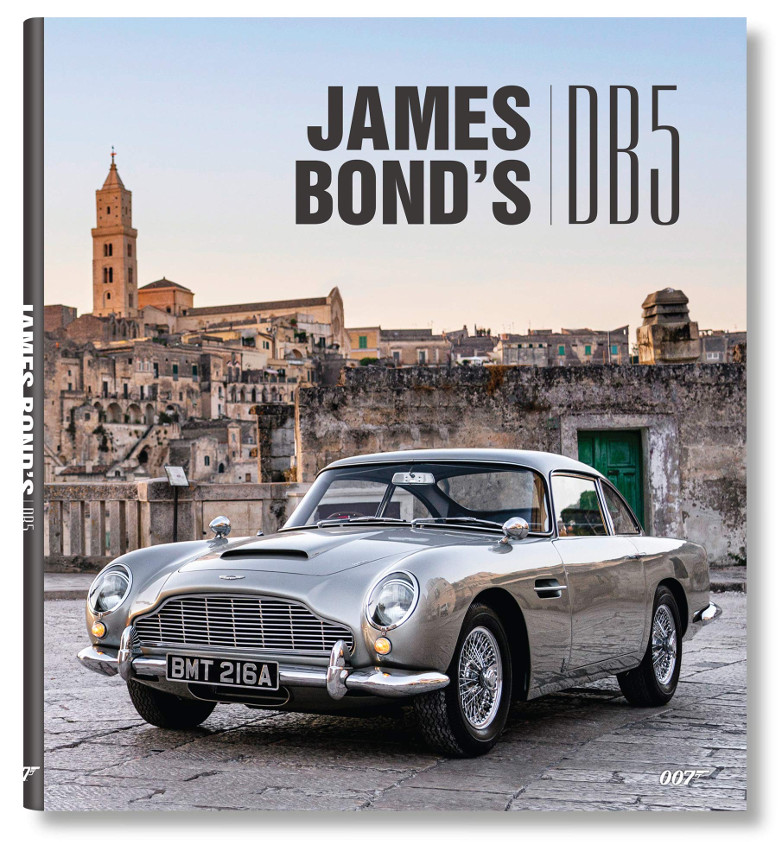 James Bond's DB5 written by Simon Hugo