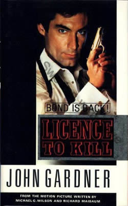 First UK edition of Licence To Kill (1990)