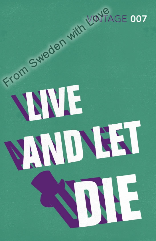 Live and let die vintage classics 2012