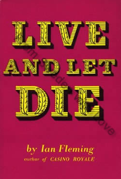First edition of Live And Let Die (1956)