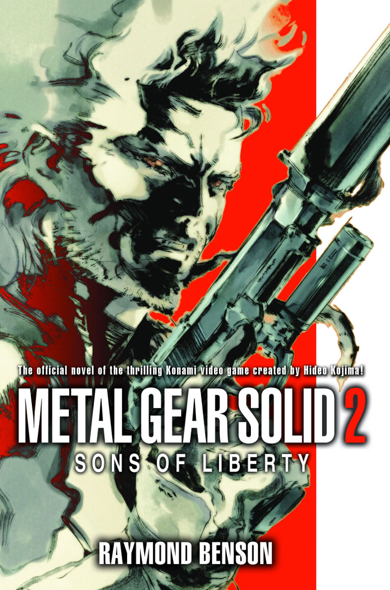 Metalgearsolid2 sons of liberty raymond benson