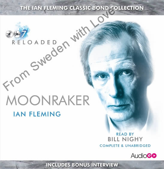Moonraker BBC audiobook