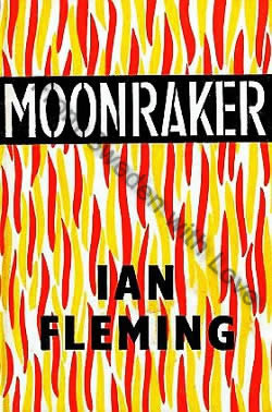 First edition UK hardcover Moonraker (1955)