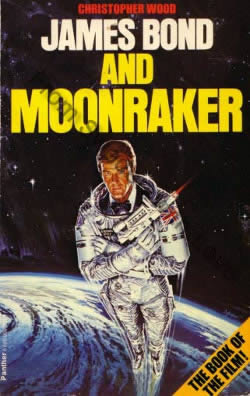 First edition UK hardcover of Moonraker (1979)