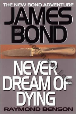 First UK edition of Never Dream Of Dying (2001)