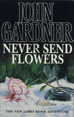 First UK edition of Never Send Flowers (1993)