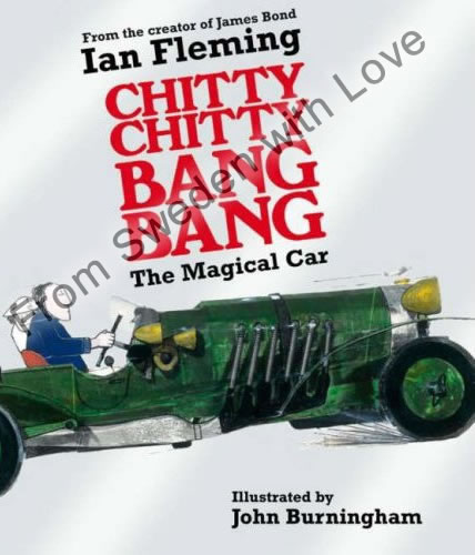 New chitty chitty bang bang book