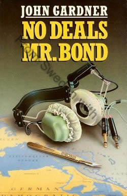 First UK edition of No Deals Mr Bond (1987)
