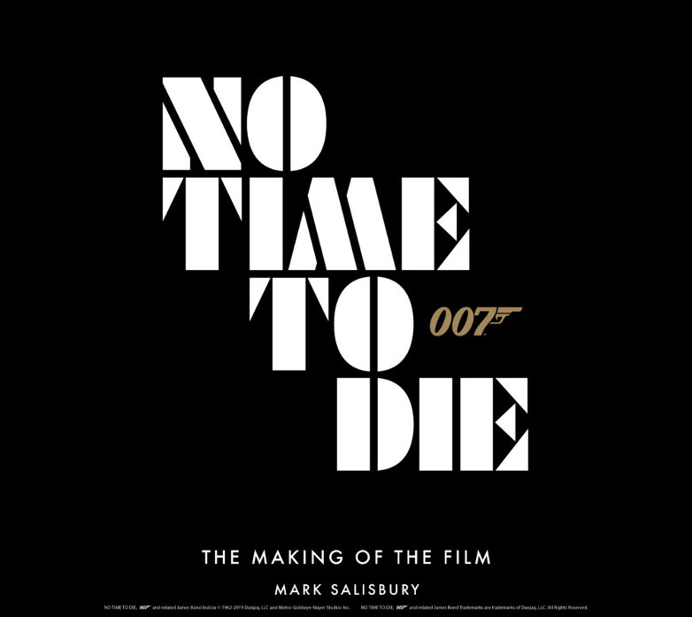 Official behind the scenes of No Time To Die book