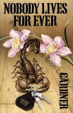 First UK edition of Nobody Lives Forever (1986)