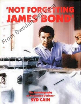 Not forgetting james bond syd cain hardback