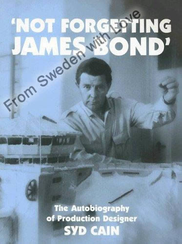 Not forgetting james bond syd cain paperback