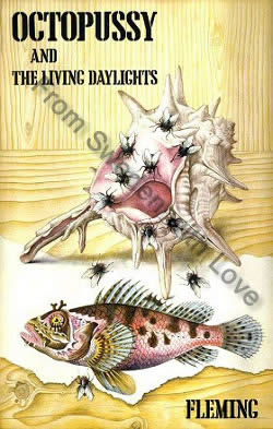 First edition UK hardcover of Octopussy (1966)