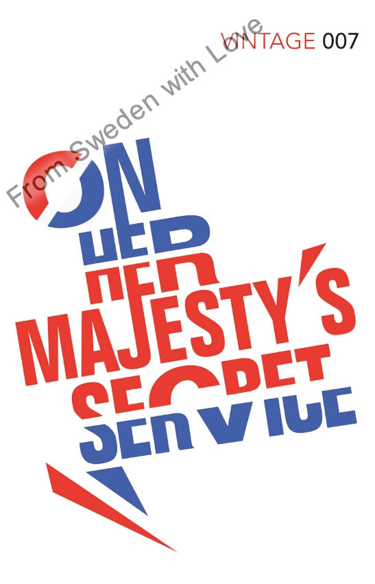 On Her Majesty's Secret Service vintage classics