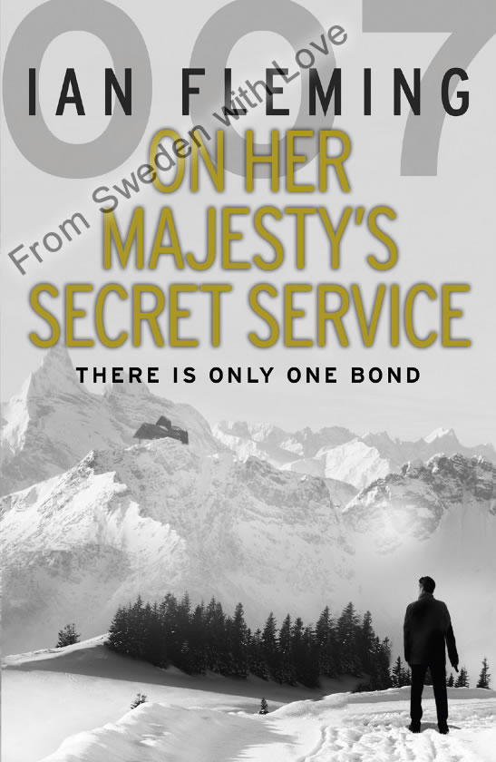 On Her Majesty's Secret Service vintage paperback
