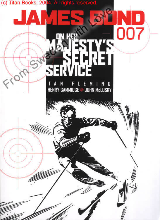 On her majestys secret service graphic novel