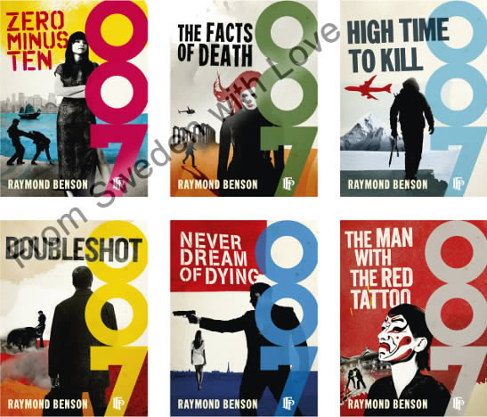 Raymond benson james bond novels ebooks