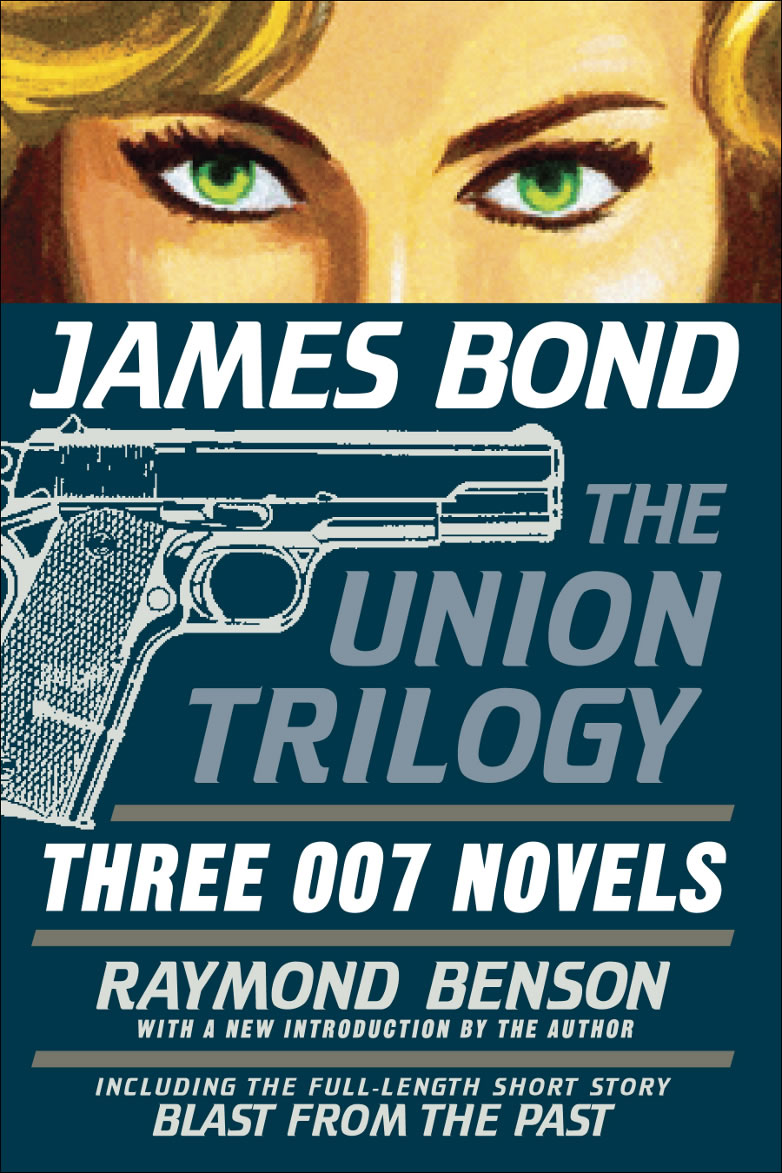 Raymond benson bond trilogy cover