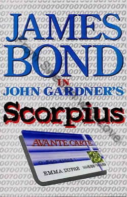 First UK edition of Scorpius (1988)