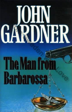 First UK edition of The Man From Barbarossa (1991)