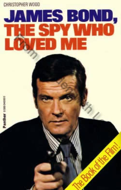 First edition of The Spy Who Loved Me (1977)