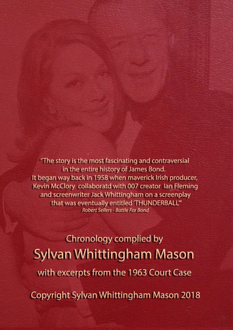 The THUNDERBALL Story Sylvan Whittingham Mason