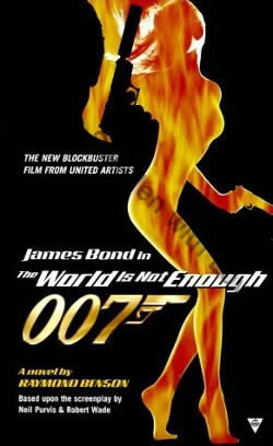 First UK edition of The World Is Not Enough (1999)