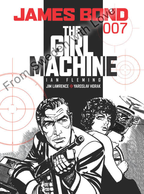 The girl machine graphic novel